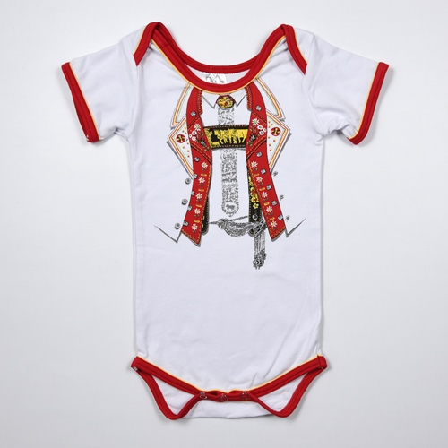 Baby Body, Appenzeller / Toggenburger Look, Kurzarm