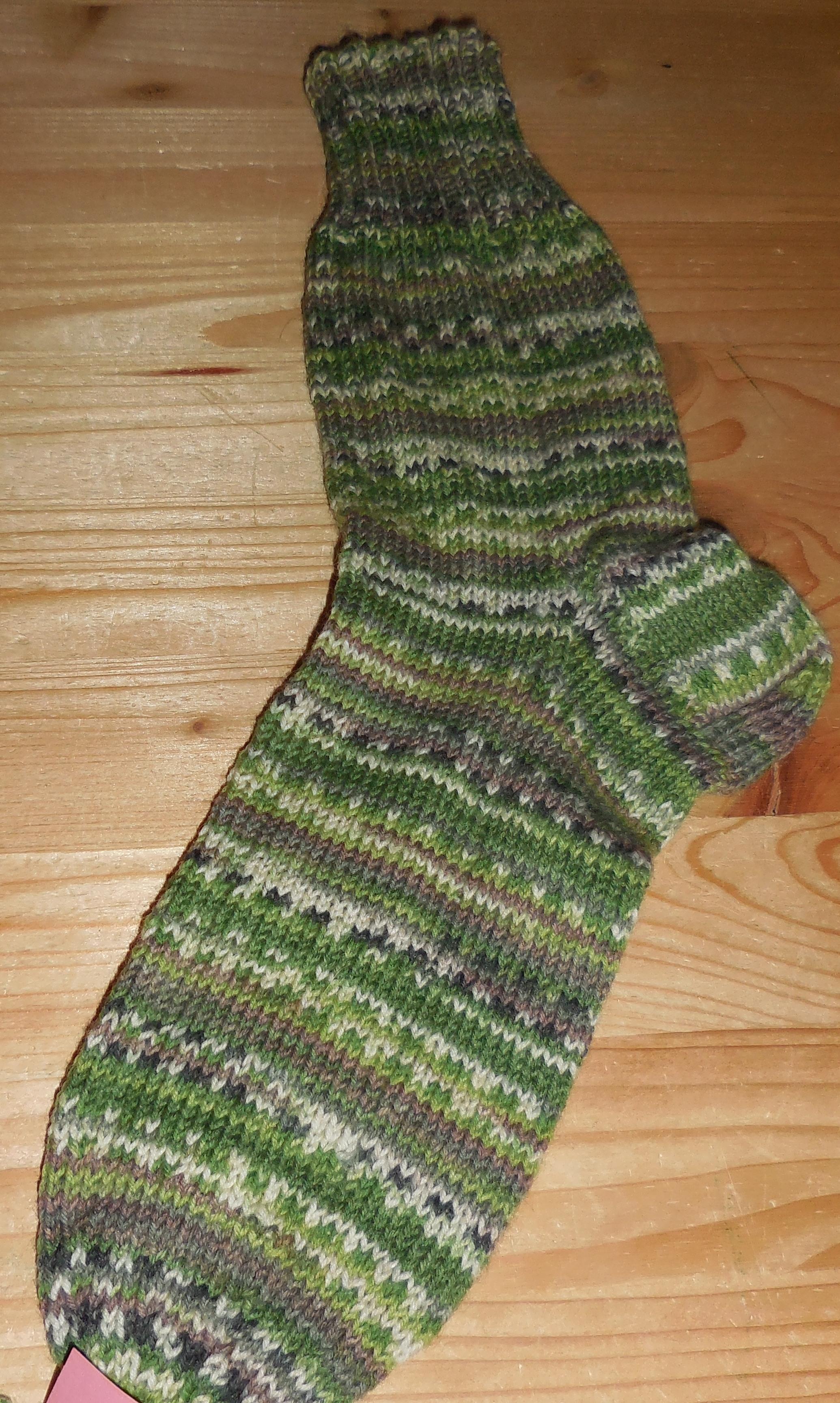 Socken handgestrickt, Einzelstücke