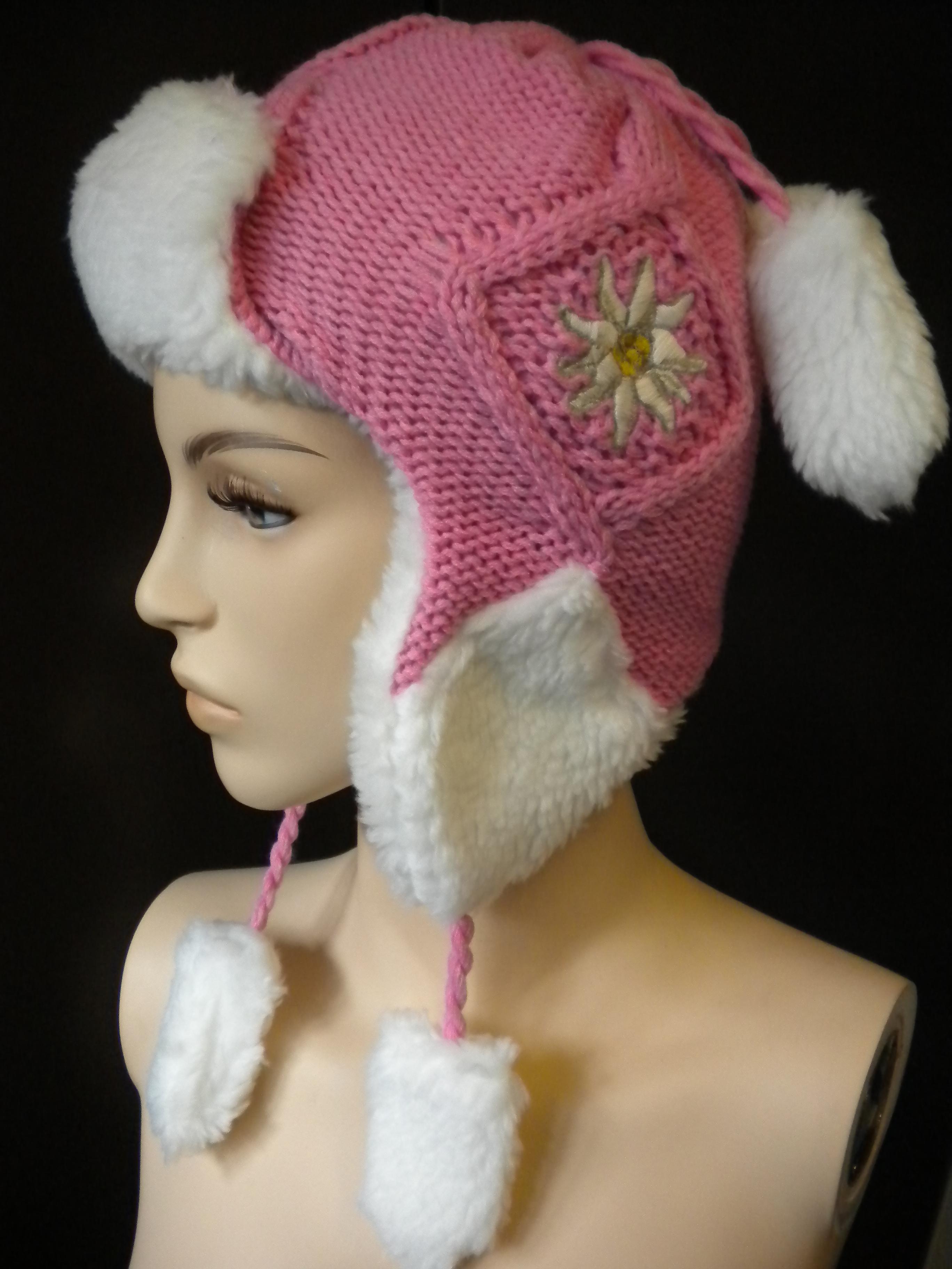 Kappe / Mütze pink