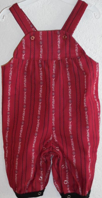 Schwinger  Strampelhose Edelweiss hellblau & rot