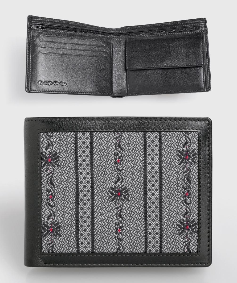 Edelweiss Portemonnaie schwarz
