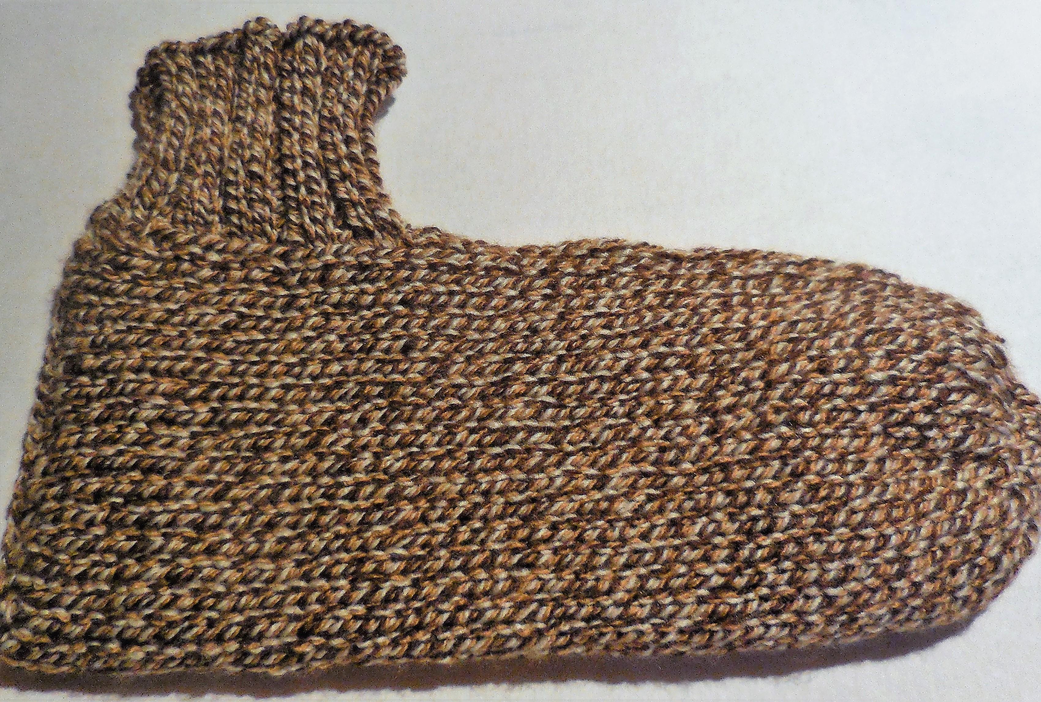 Bettsocken handgestrickt , original Tösstal-Design