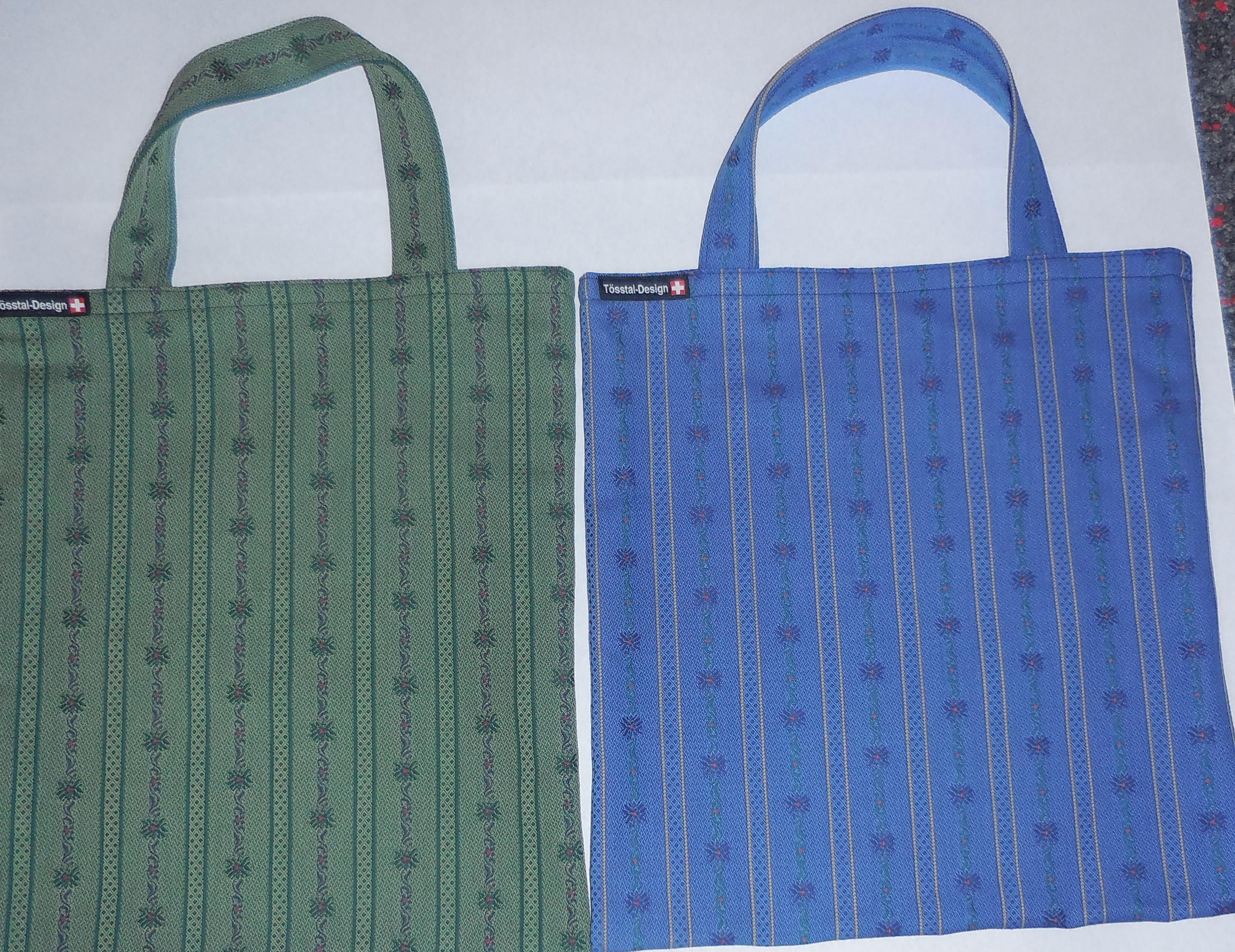 Einkaufstasche Edelweiss Stoff, div. Farben