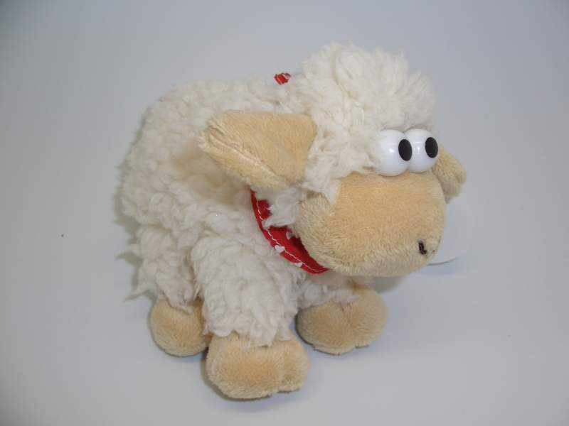 Schaf Plüsch mit CH Kreuz Halstuch