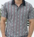 Edelweiss Polo Shirt, anthrazit