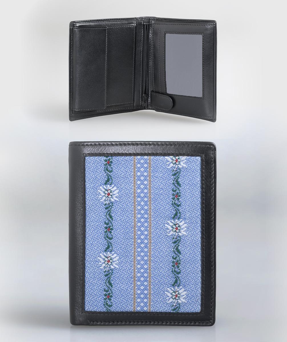 Edelweiss Portemonnaie hellblau, AKTION