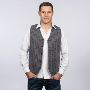 Edelweiss Gilet anthrazit